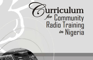Curriculum for Community Radio Training in Nigeria