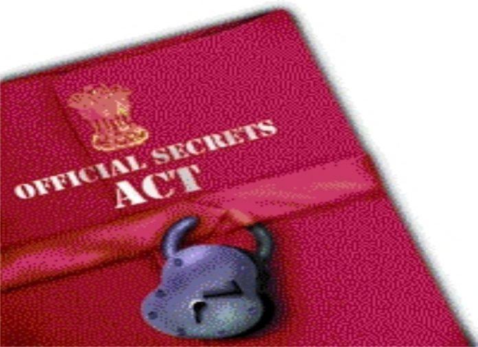 Official Secret act