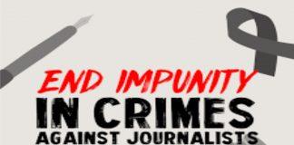 No Impunity against journalist'crime